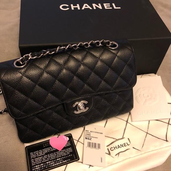 e8b0d5c3ef28 CHANEL Bags | Sold Black Caviar Small Classic Flap | Poshmark